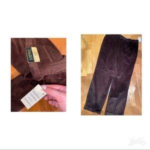Ralph Lauren corduroy new pants 38x30